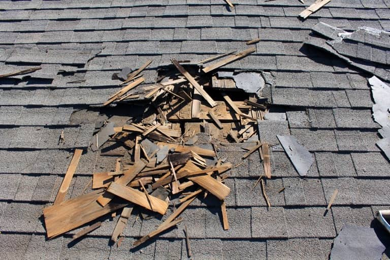 storm damage roof repair services from my town roofing