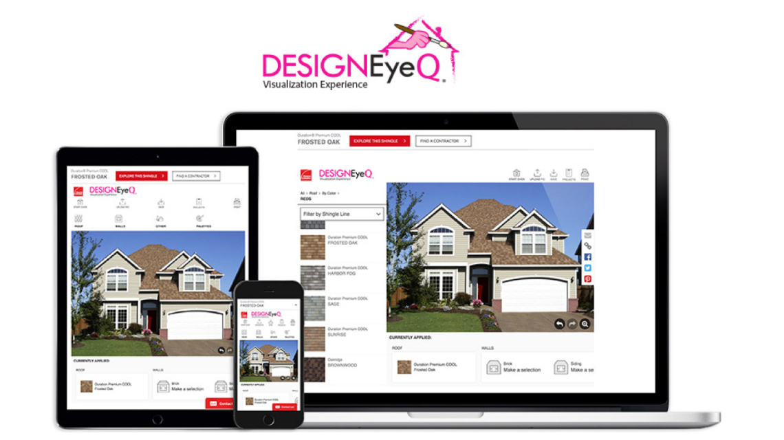 design and visualize your new roof on your home virtually