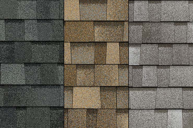 pick your shingles from our wide selection
